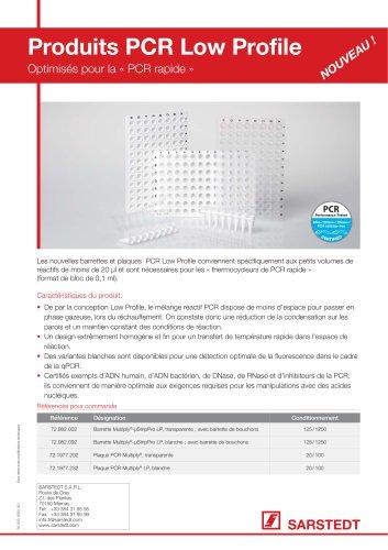 Produits PCR Low Profile