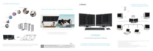 Central patient monitoring station STAR8800