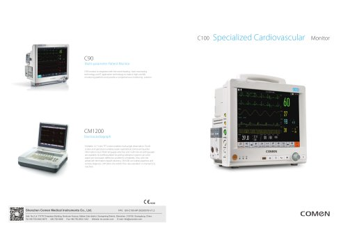 Compact patient monitor C100