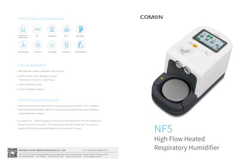 Electronic ventilator NF5