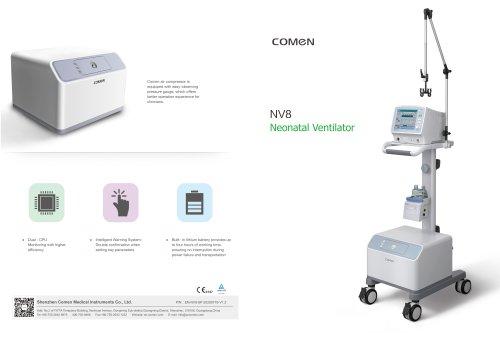 Electronic ventilator NV Series