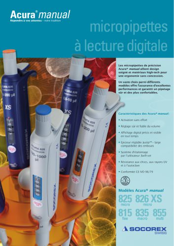 Digital reading pipettes