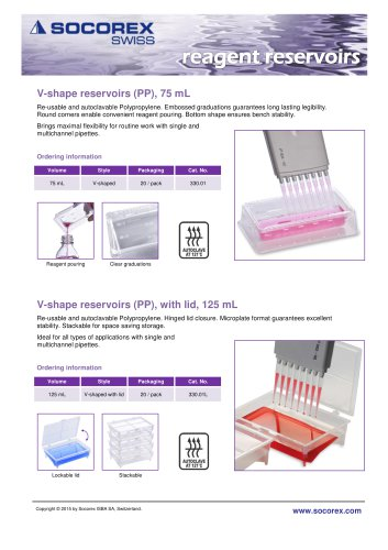 Reagent Reservoirs
