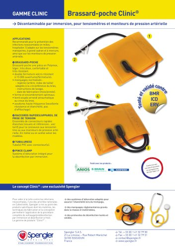 Accessoires:Brassard-poche Clinic