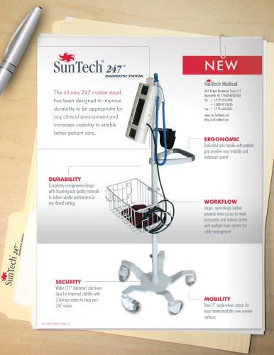 SunTech 247 Mobile Stand Brochure