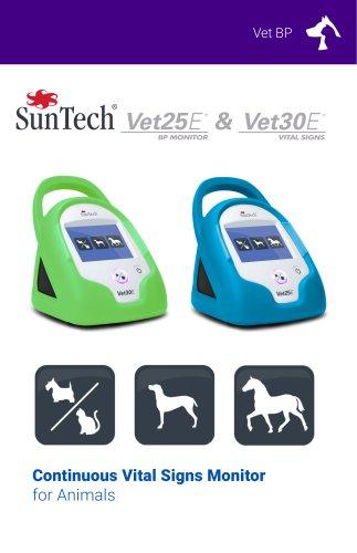 vet25e vet30e Continuous Vital Signs Monitor for Animals