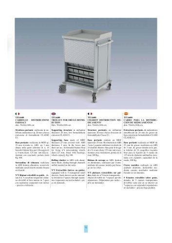 Treatment trolley M6600 models