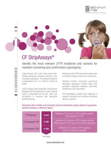Cystic Fibrosis (CF) StripAssay®