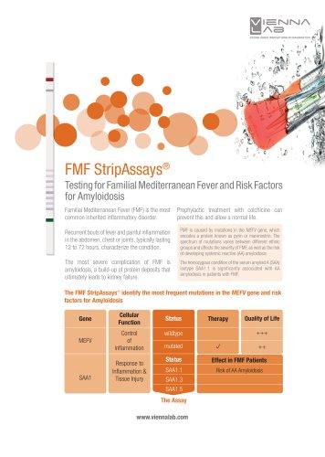 Familial Mediterranean Fever StripAssays®