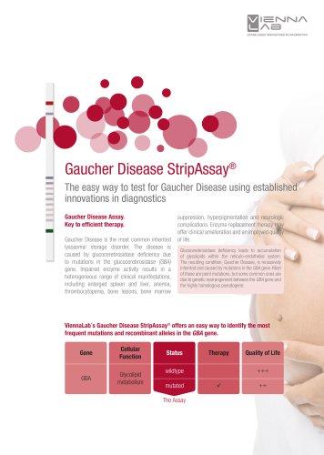 Gaucher Disease StripAssay®