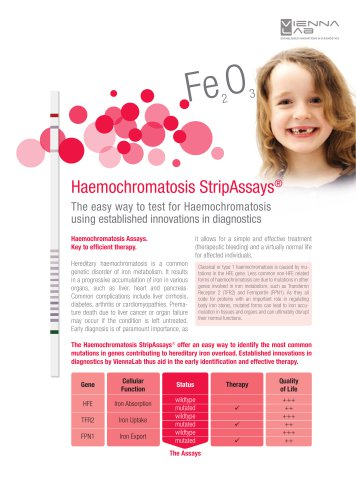 Haemochromatosis StripAssays®