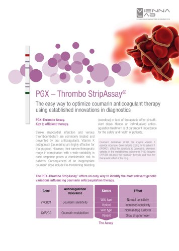 PGX-Thrombo StripAssay