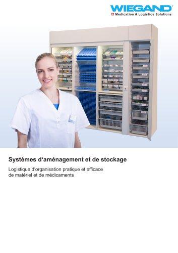 Systèmes d'aménagement et de stockage
