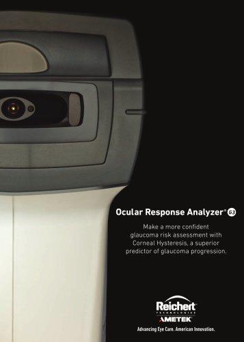 Ocular Response Analyzer® G3