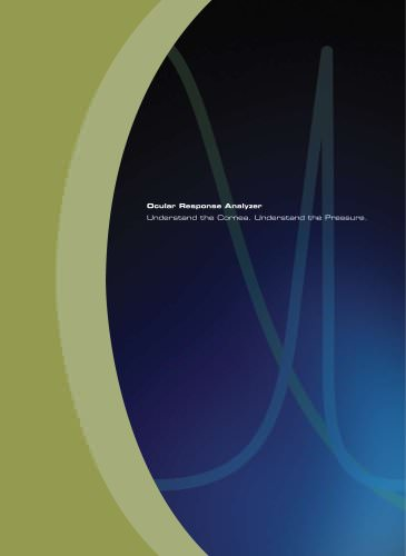 Ocular Response Analzyer® - Product Brochure