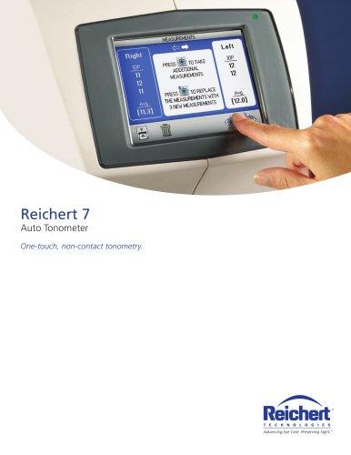 Reichert 7 Auto Tonometer - Brochure