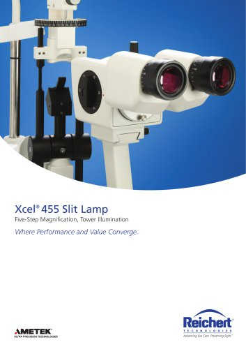 Xcel® 455 Slit Lamp