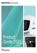 RODENSTOCK Instruments Product Guide 2021