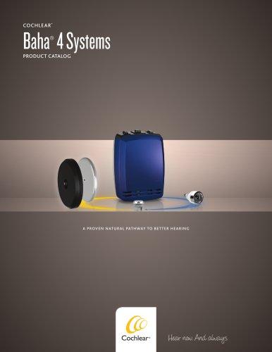 Baha® 4 Systems
