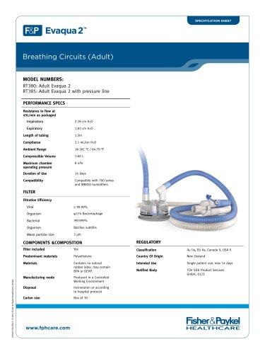 Evaqua 2? Invasive Circuits Specification Sheets