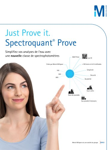 Spectroquant® Prove