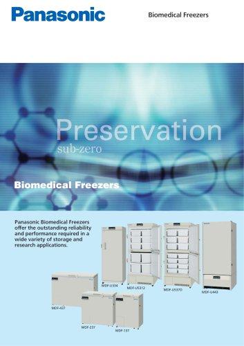 Biomedical Freezers