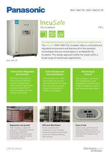 IncuSafe CO2 Incubator MCO-18AC Product Sheet
