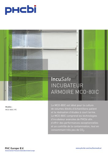 IncuSafe INCUBATEUR ARMOIRE MCO-80IC