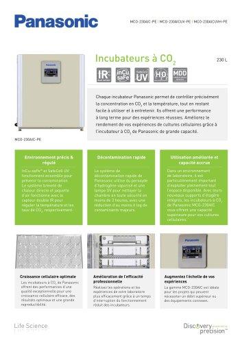 MCO-230AIC IncuSafe Incubateurs à CO2