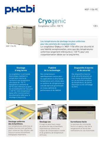 MDF-1156(ATN)-PE congélateur Cryogenic