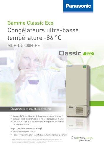 MDF-DU300H PRO ECO Congélateurs ultra-basse -86 °C