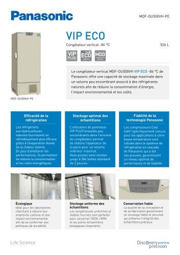 MDF-DU500VH VIP ECO Congélateur vertical -86 °C