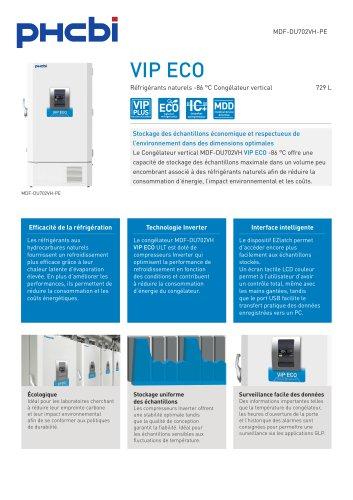 MDF-DU702VH-PE Réfrigérants naturels -86 °C Congélateur vertical