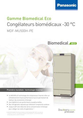 MDF-MU500H Biomedical ECO Congélateurs biomédicaux -30 °C