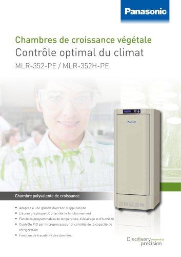MLR-352 352H Chambres de croissance végétale