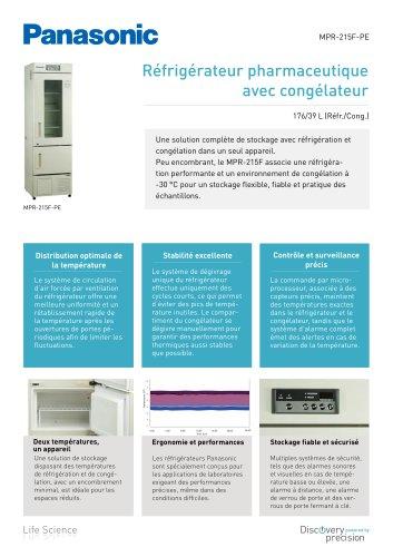 MPR-215F Réfrigérateur pharmaceutique avec congélateur