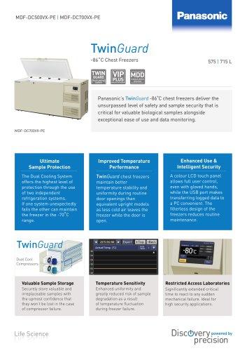 TwinGuard -86 chest freezers