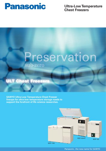 Ultra-Low Temperature Chest Freezers