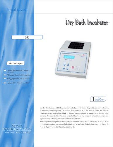 Dry Bath Incubator 352