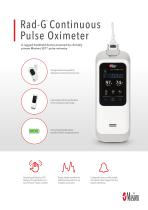 Rad-G™ Continuous Pulse Oximeter