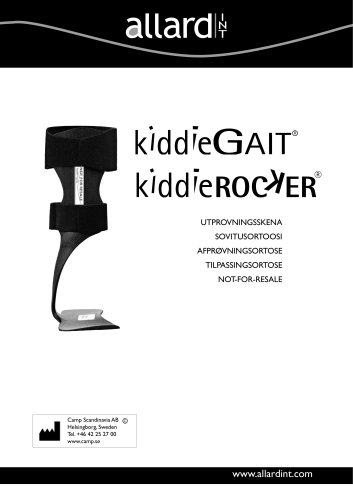 kiddieGAIT® kiddieROCKER®