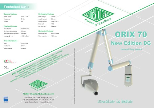 ORIX 70 New Edition DG