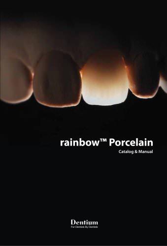 rainbow Porcelain