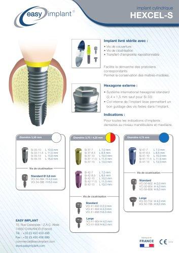 Implant Hexcel-S
