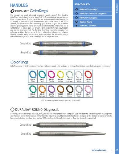 Handles DURALite® ColorRings