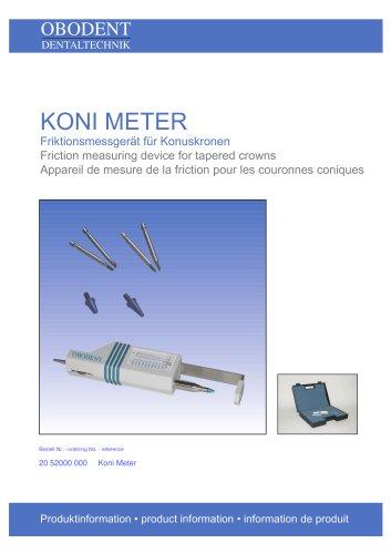 Koni Meter