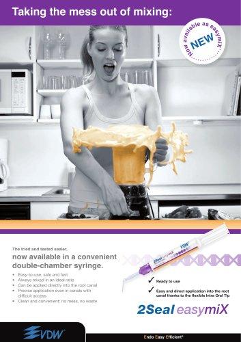 2Seal easymiX® - Epoxyamine based root canal sealer