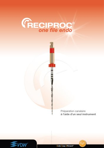 RECIPROC - brochure de produit