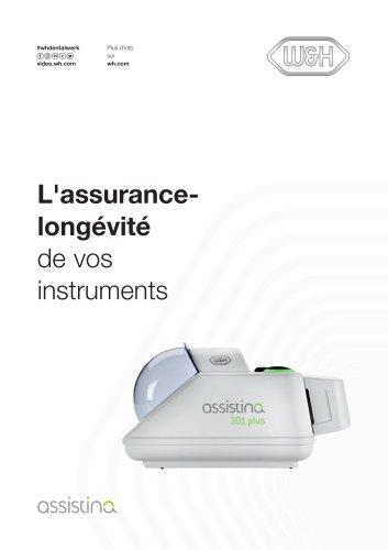L'assurancelongévité de vos instruments
