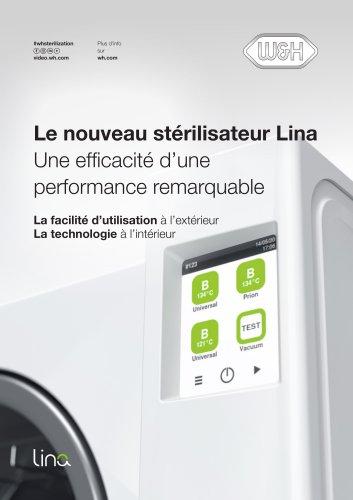 Le nouveau stérilisateur Lina Une efficacité d'une performance remarquable